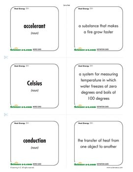 Science A Z Heat Energy Grades 3 4 Physical Science Unit Poetry Worksheet 3rd Grade Text And Graphic Features Worksheets 3rd Grade #20