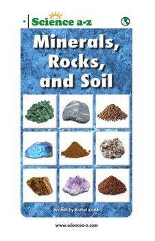 Multilevel unit nonfiction books for kids science a z for Minerals in dirt