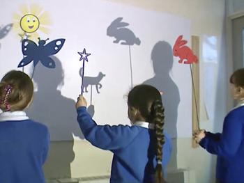 Shadow Puppets - Science Video