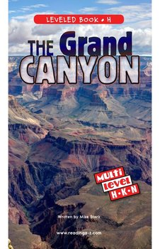 The Grand Canyon - Reading A–Z Leveled Book
