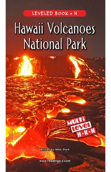 Hawaii Volcanoes National Park - Reading A–Z Leveled Book