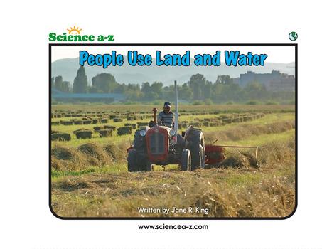 People Use Land and Water Concept Book