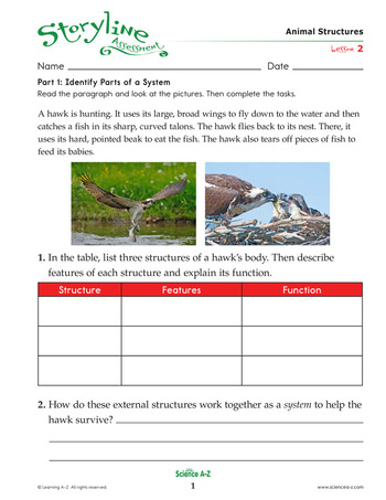 Animal Structures Assessment
